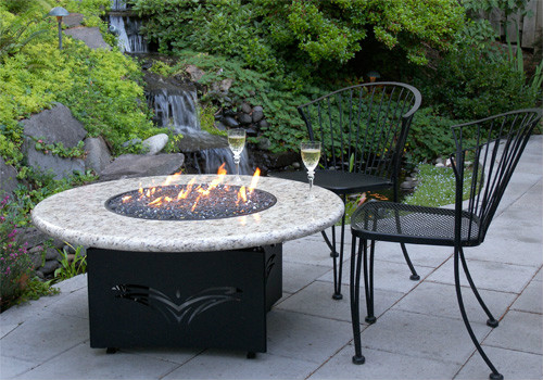 Designing Fire, Manufacturer Of The Oriflamme Fire Table, Provides A  Uniquely Designed Gas Fire Pit Table For An Exceptional Outdoor Experience.