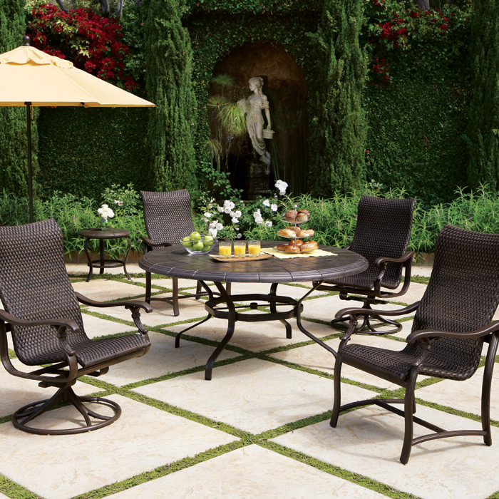 ravello woven sling - Tropitone Patio Furniture